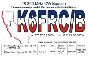 K6FRC