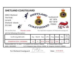 Shetland CG2